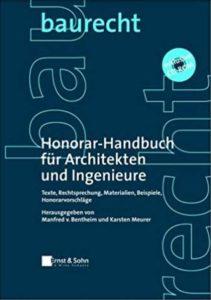 Honorar-handbuch für Architekten und Ingenieure