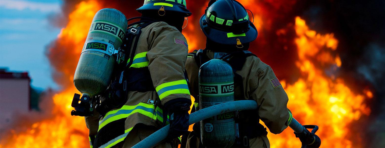 Banner Brandbekämpfung