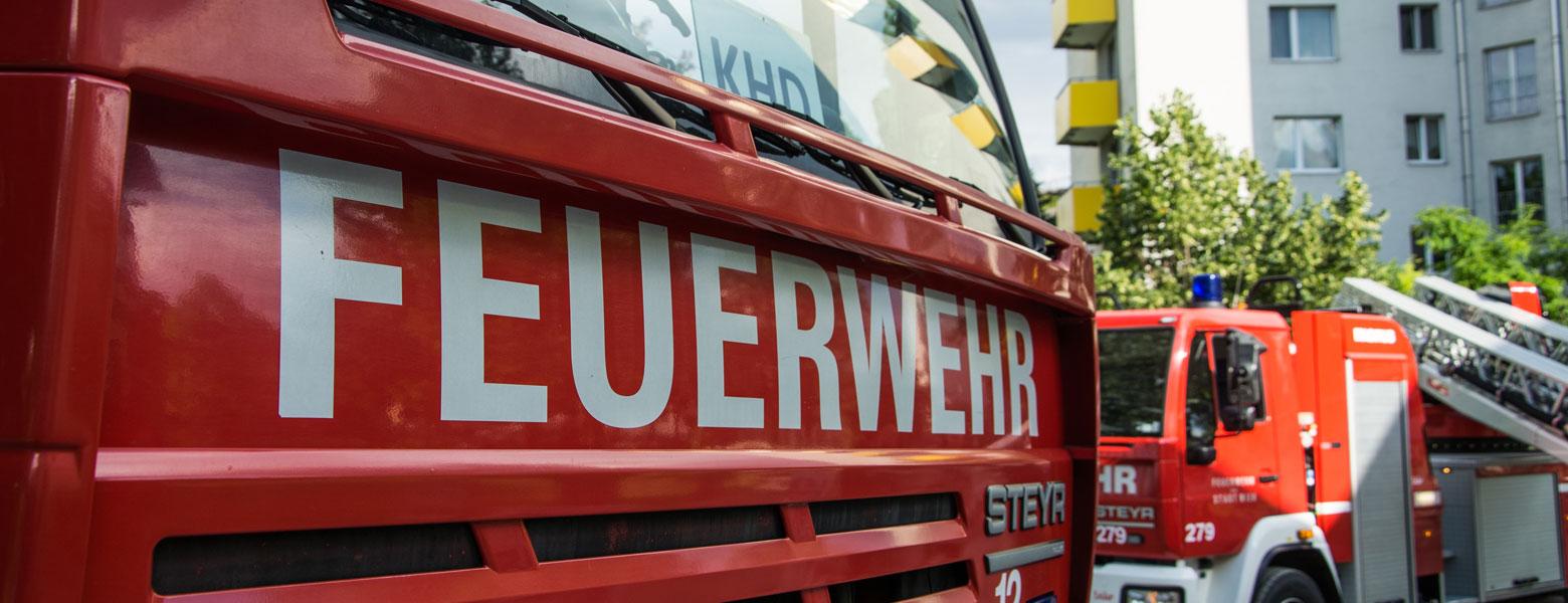 Banner Brandschutz